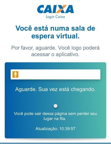 Instabilidade no Caixa Tem; usuários não estão conseguindo acesso ao aplicativo - Reprodução