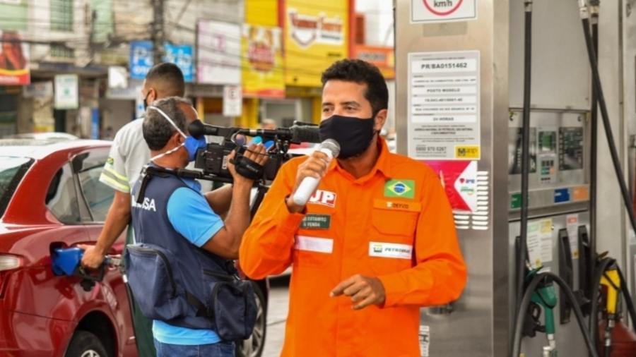 Deyvid Bacelar, coordenador geral da FUP, acredita que indicação de general para Petrobras não foi intervenção de Bolsonaro - Divulgação