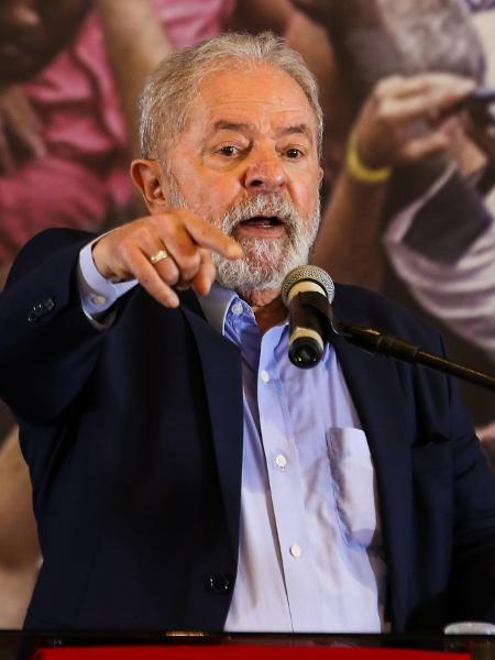 10.mar.2021 - O ex-presidente Luiz Inácio Lula da Silva (PT) - Marcelo D. Sants/Framephoto/Estadão Conteúdo