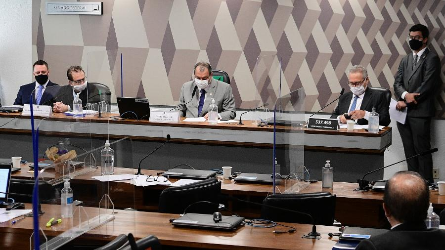 Texto final da CPI da Covid já está sendo elaborado, diz Josias de Souza - Pedro França/Pedro França/Agência Senado