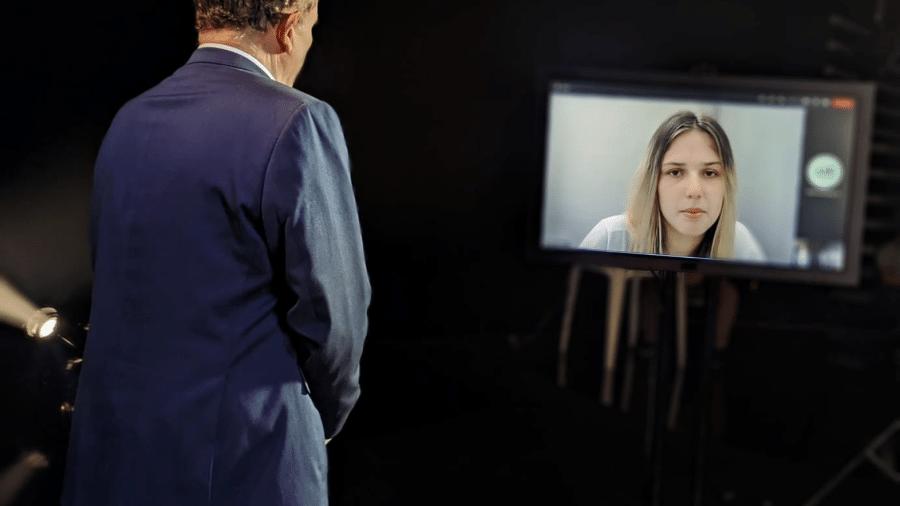 """Lorraine Bauer cedeu primeira entrevista desde a prisão e afirmou ter sofrido com """"oportunismo"""" de autoridades - Divulgação/Record TV"""