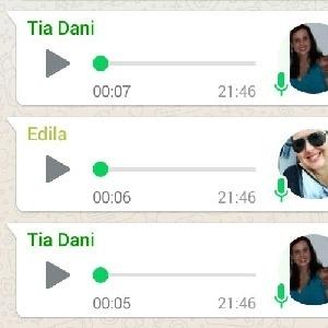Novidade no WhatsApp facilitará a vida de quem ouve áudios - Reprodução