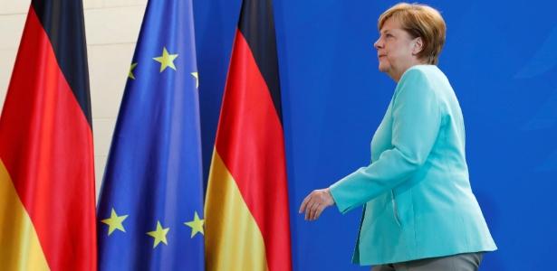 A chanceler alemã comenta a decisão de Donald Trump de os EUA abandonarem o Acordo de Paris