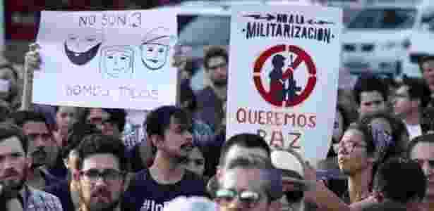 Especialistas alertam para o aumento da crueldade nos crimes no México e para a vulnerabilidade dos jovens - AFP - AFP
