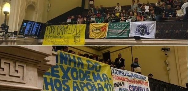 Críticos e apoiadores de Crivella na Câmara Municipal