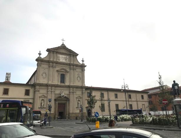 Fachada da igreja de San Marco em Florença, na Itália - Elisabetta Povoledo/The New York Times