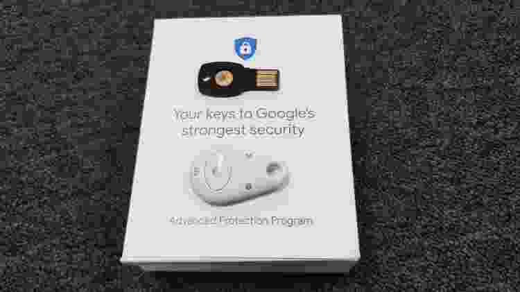 Chave de segurança do Google 1 - Márcio Padrão/UOL - Márcio Padrão/UOL