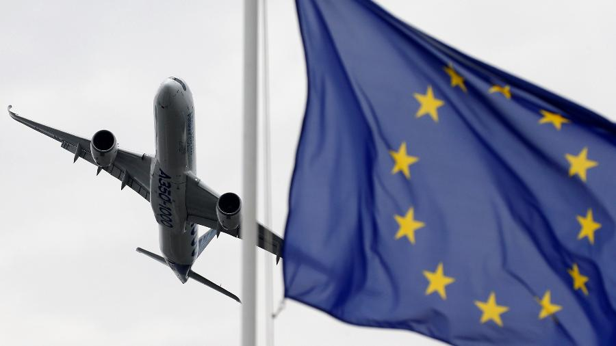 Bandeira da União Europeia (UE) - Pascal Rossignol/Reuters