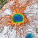 Parque Nacional de Yellowstone, nos EUA - Google Earth View