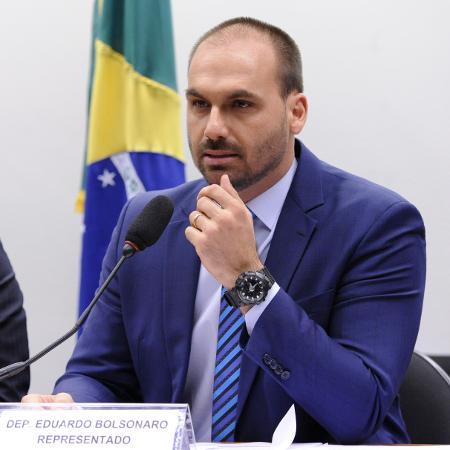 O deputado Eduardo Bolsonaro - Cleia Viana/Câmara dos Deputados