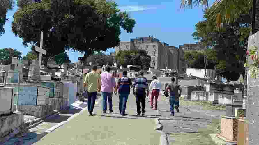 Prefeitura de Duque de Caxias anunciou retomada da administração de dois cemitérios municipais - Divulgação/Prefeitura de Duque de Caxias