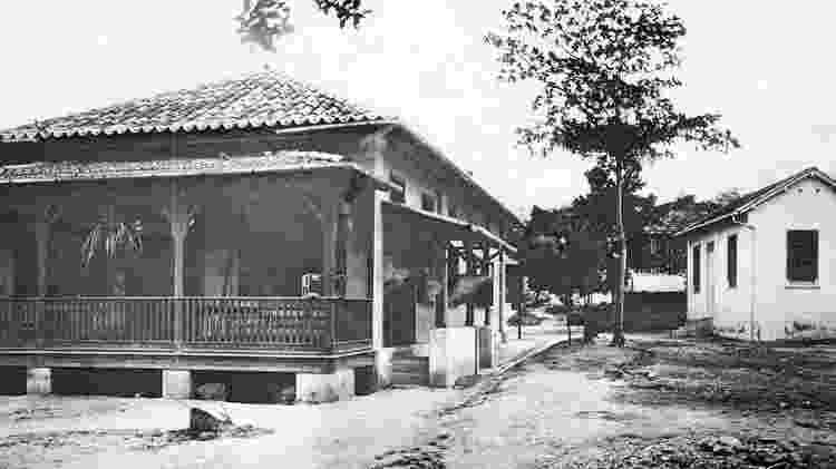 Laboratório principal da Fiocruz - Acervo Casa de Oswaldo Cruz - Acervo Casa de Oswaldo Cruz