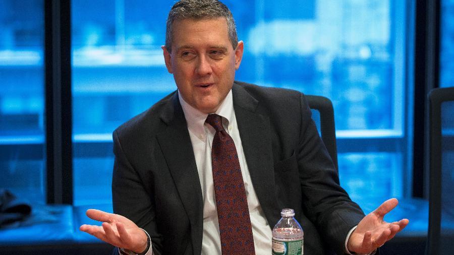 """James Bullard afirmou que ainda é """"muito cedo"""" para falar sobre mudanças na política monetária  - Lucas Jackson"""