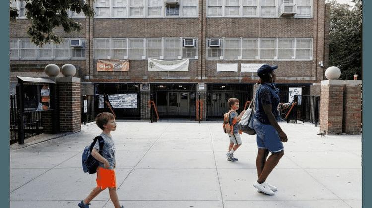 Outra escola fechada em Nova York (EUA) - Reuters - Reuters