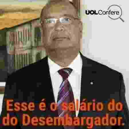 O desembargador Osório de Araújo Ramos Filho, de Sergipe - Reprodução/Facebook