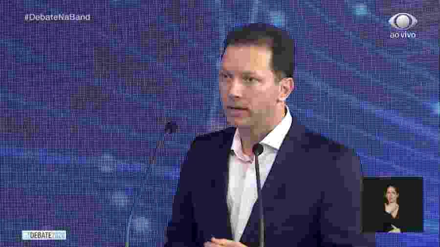 Nelson Marchezan participa do debate em Porto Alegre - Reprodução