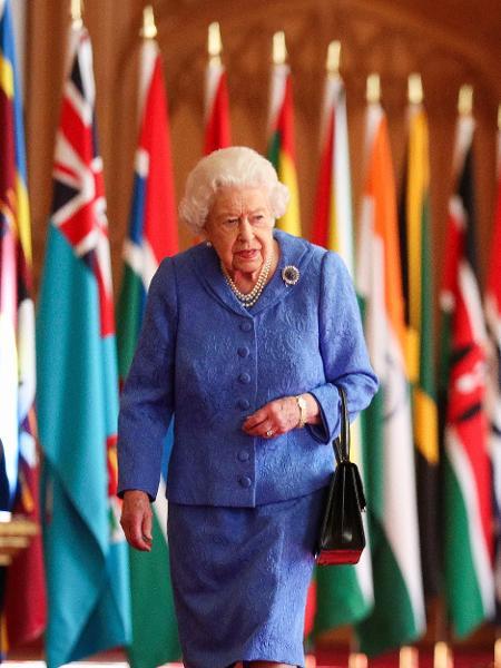 A rainha Elizabeth II - Steve Parsons/AFP