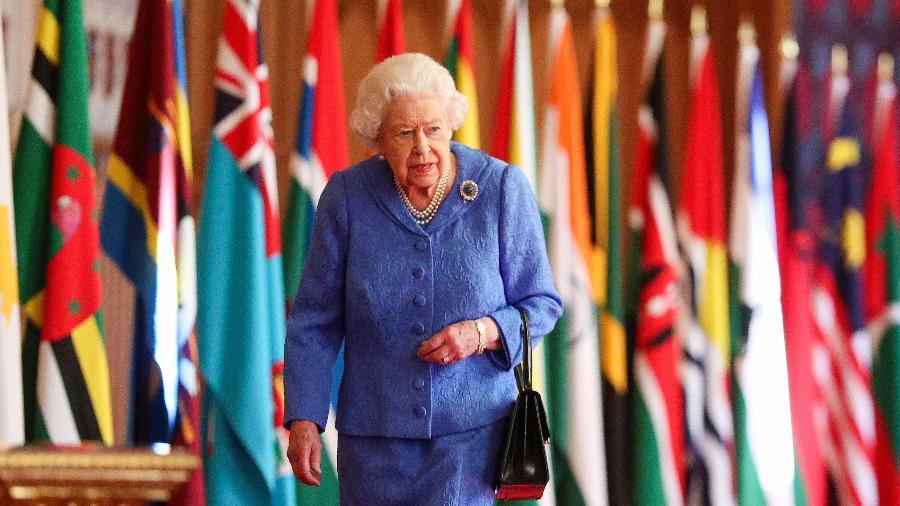 Rainha Elizabeth 2ª perdeu o marido, o príncipe Philip; Casal estava junto há 73 anos - Steve Parsons/AFP