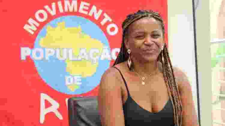 Alessandra Ramos Cordeiro, do Movimento População de Rua - Arquivo Pessoal - Arquivo Pessoal