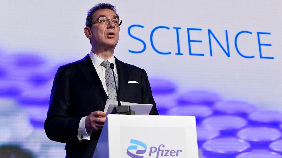 CEO da Pfizer, Albert Bourla - John Thys/Reuters