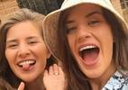 Britânica conta como deu soco em crocodilo para salvar irmã gêmea - George Laurie