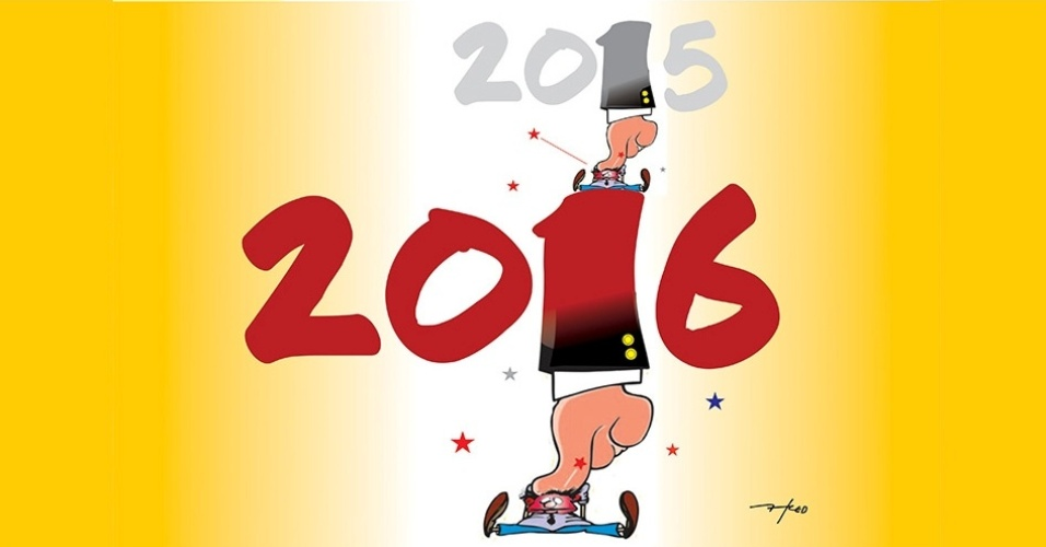 11.jan.2016 - O ano de 2015 foi difícil, mas 2016 também não está sendo fácil