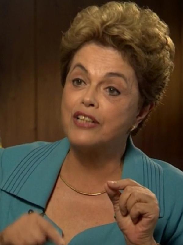 """28.abr.2016 - Em entrevista à CNN, a presidente Dilma Rousseff disse que vê relação entre o processo de impeachment que pode cassar seu mandato com o fato """"de ser uma mulher muito dura"""""""