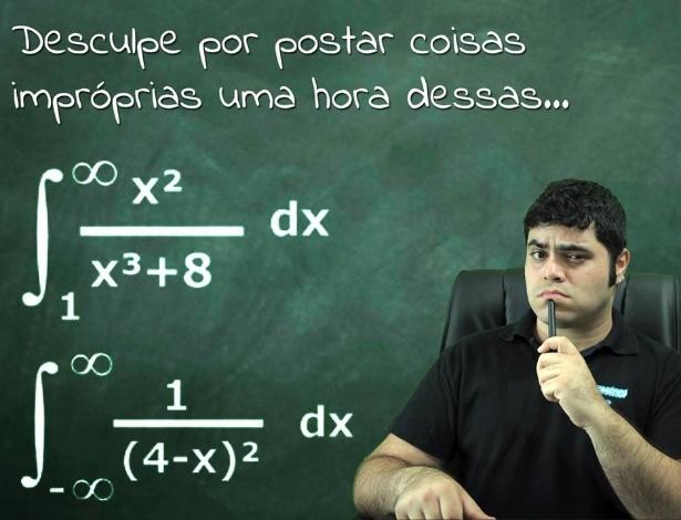 Rafael Procópio dá dicas de matemática na internet
