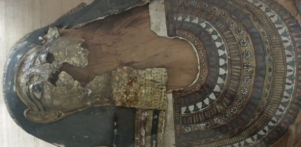 Há pouco mais de um ano os curadores do museu de Hyderabad descobriram que a múmia começou a se desestabilizar