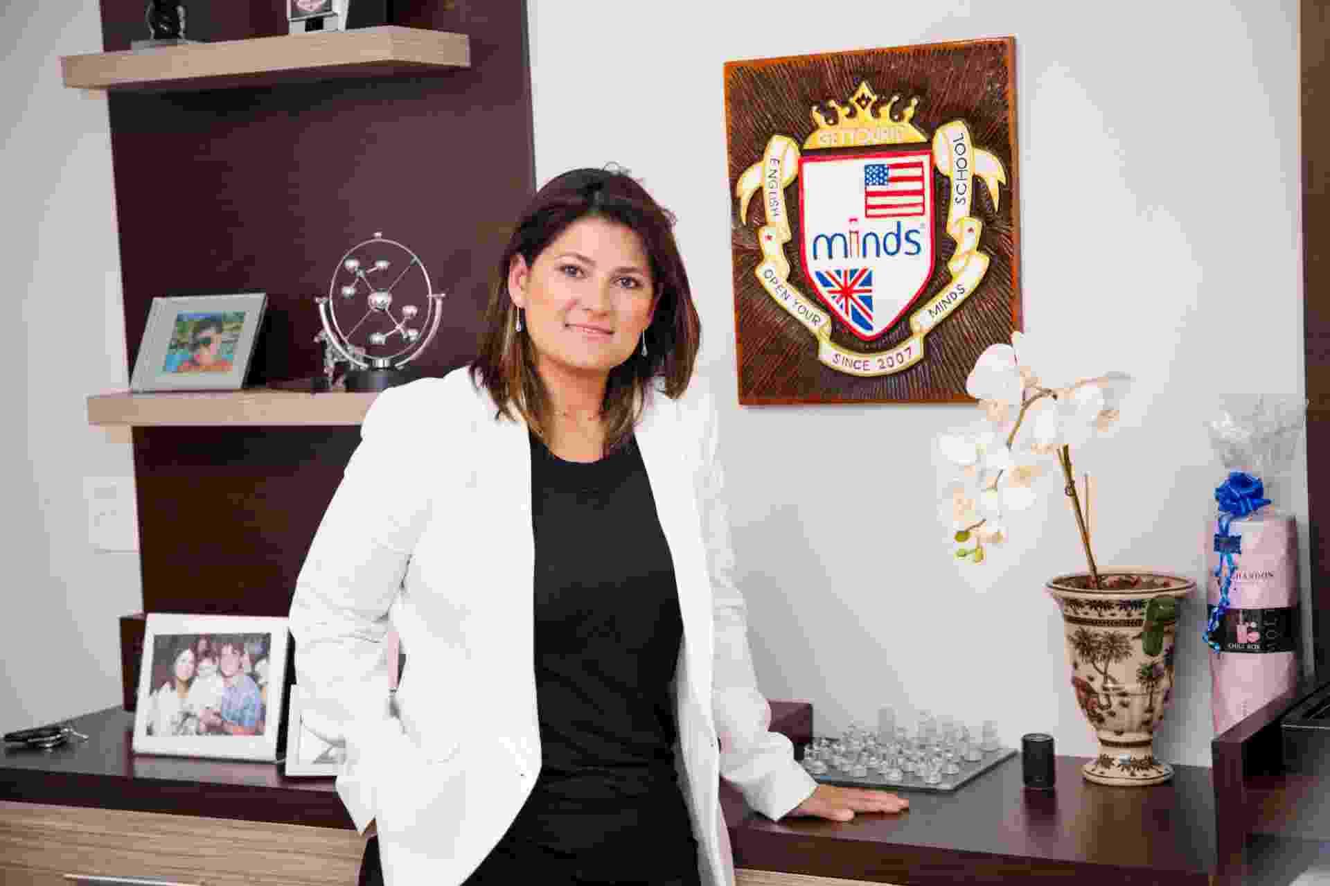 Leiza Oliveira, CEO da franquia Minds Idiomas - Divulgação