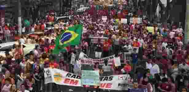 Protesto greve geral Salvador - Rodrigo Souza - Rodrigo Souza