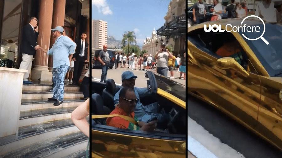 bfce4d24877 Filho de Lula ostentou no Uruguai com uma Ferrari banhada a ouro ...