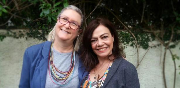 Veronique Forat (à esq.) e Marta Monteiro criaram a empresa morar.com.vc - Divulgação