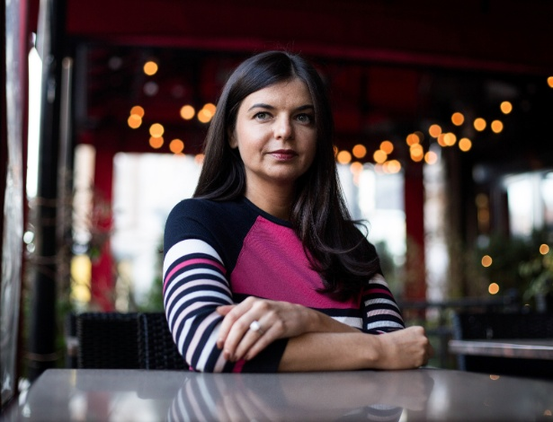 Kristina Tsipouras, 32, fundadora do grupo Boston Business Women de 12,500 membros