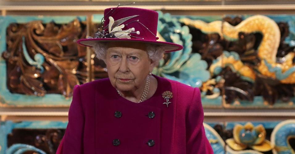 8.nov.2017 - Rainha Elizabeth 2ª