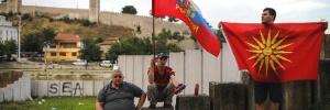Temendo a influência do Ocidente, Rússia dissemina desinformação em referendo na Macedônia (Foto: Marko Djurica/Reuters)