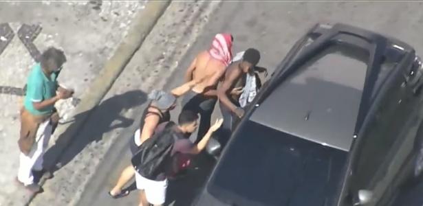 Usuários de drogas roubam motoristas na avenida Rio Branco, após ação da GCM