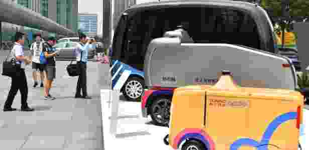 carros autonomos baidu - Li Xin/Xinhua - Li Xin/Xinhua