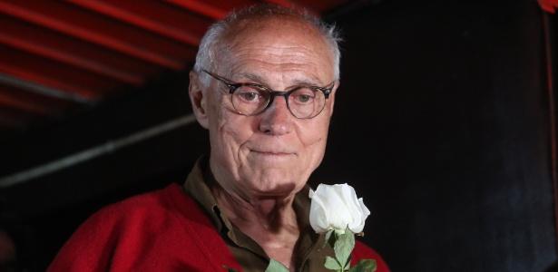 25.set.2018 - Candidato ao Senado por São Paulo, Eduardo Suplicy (PT)