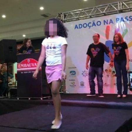 Crianças e adolescentes disponíveis para adoção desfilam em evento em Cuiabá - Reprodução/Facebook