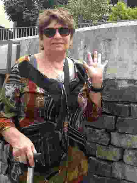 Professora Rosalina Santa Cruz, da PUC-SP - Arquivo Pessoal