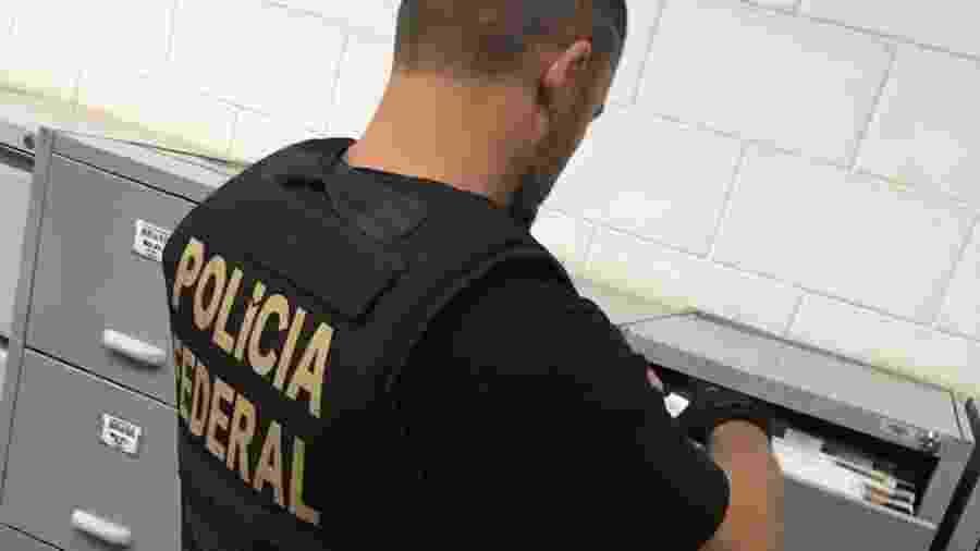 3.set.2019 - Polícia Federal cumpre mandados na Universidade Brasil  - Divulgação/PF