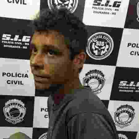 Rafael Ferreira Ponce, 29, preso após assumir matar um homem e o filho dele por vingança - Divulgação