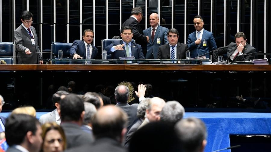 Votação da chamada PEC paralela no Senado Federal - Roque de Sá/Agência Senado