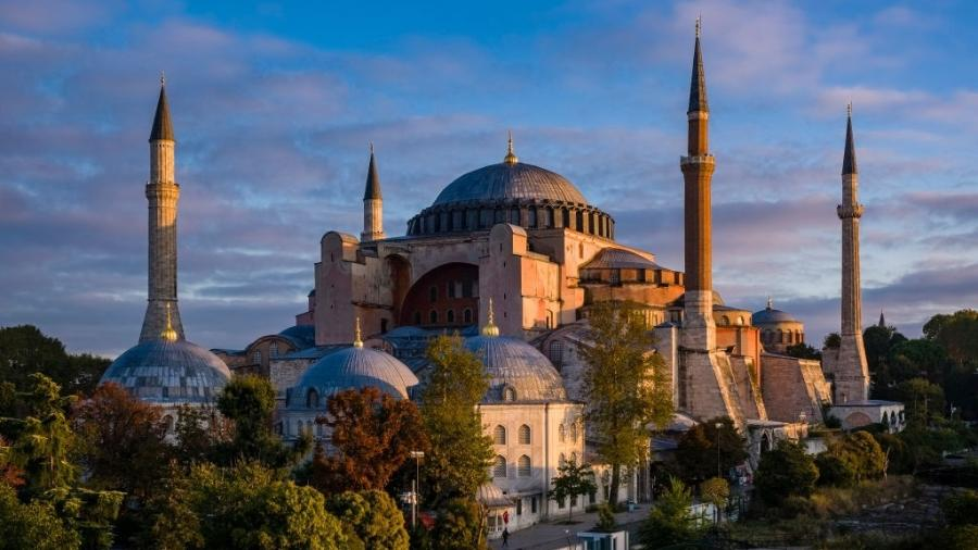 A catedral Hagia Sofia, em Istambul - Frank Bienewald/LightRocket via Getty Images