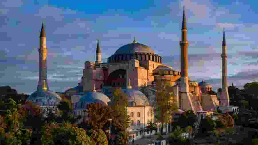 A basílica Santa Sofia, em Istambul - Frank Bienewald/LightRocket via Getty Images