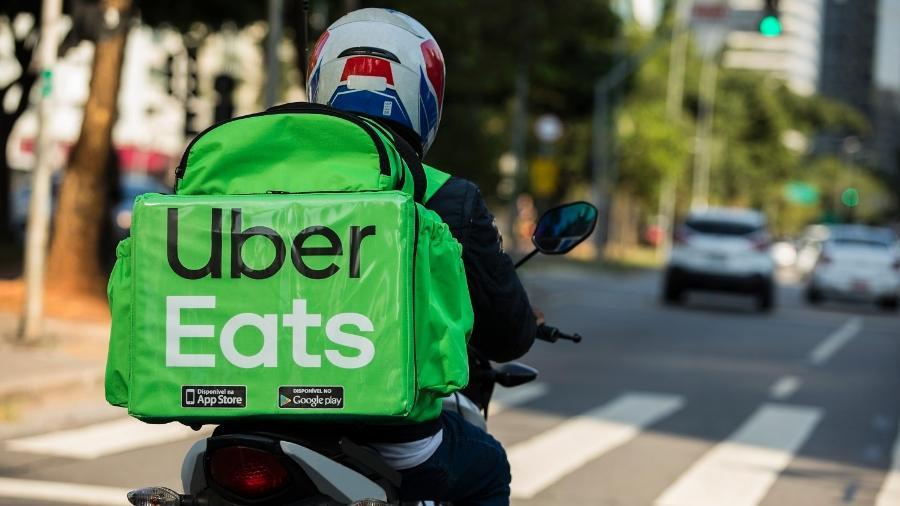 Uber Eats: Aplicativos de delivery e de transporte estimulam que entregadores e motoristas se regularizem como MEIs - Divulgação/Marcelo Justo