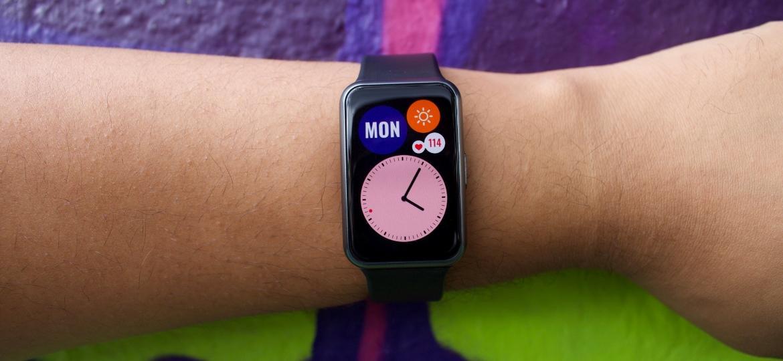Smartwatch Watch Fit, da Huawei - Guilherme Tagiaroli/UOL