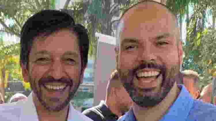 16.mai.2021 - Ricardo Nunes (MDB), que assume a Prefeitura de São Paulo, publica nota em rede social lamentando a morte de Bruno Covas - Reprodução da internet - Reprodução da internet