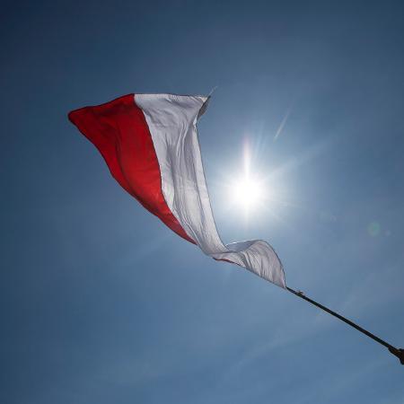 Imagem de arquivo da bandeira da Indonésia; terremoto foi detectado a uma profundidade de 31 quilômetros  - Tomohiro Ohsumi/Getty Images